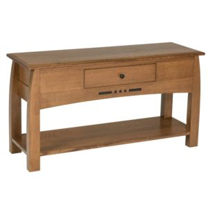 Hayworth Console Table by Amish Crafted by Noah Bontrager