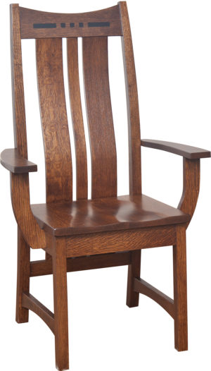 Hayworth Arm Chair by Amish Crafted by Noah Bontrager