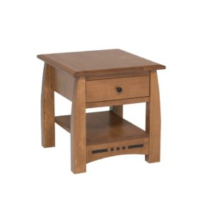 Hayworth End Table by Amish Crafted by Noah Bontrager