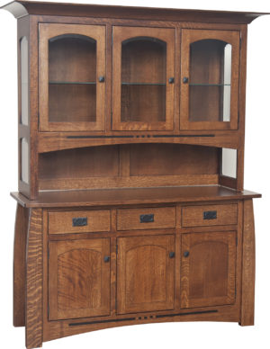 Hayworth Hutch by Amish Crafted by Noah Bontrager