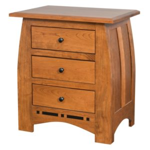 Hayworth Night Stand by Amish Crafted by Noah Bontrager