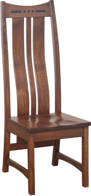 Hayworth Highback Side Chair by Amish Crafted by Noah Bontrager