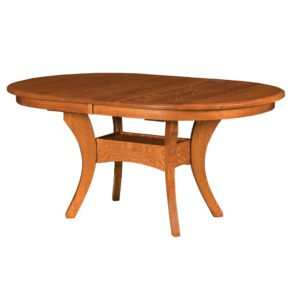 Hoosier Double Table by Amish Crafted by Noah Bontrager