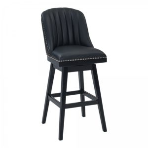 Journey Swivel Stool (Black/Black) by Lee Jay