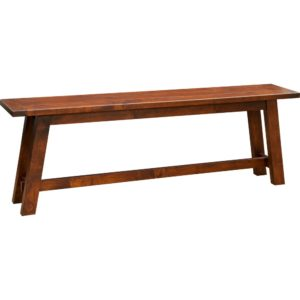 Lewiston Plank Top Bench by Amish Crafted by Noah Bontrager