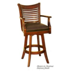 Mario 1052 Swivel Barstool by JS Products
