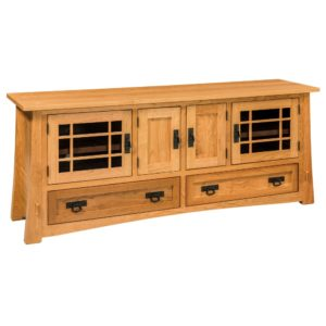 Mason 72″ TV Stand by Amish Crafted by Noah Bontrager