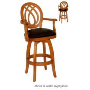 Medallion Nova 4818 Swivel Barstool by JS Products