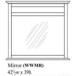 Woodrow Mirror by Amish Crafted by Noah Bontrager