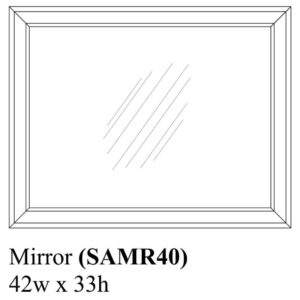 Sedona Mirror by Amish Crafted by Noah Bontrager