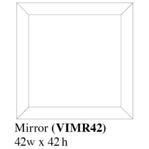 Verona Mirror by Amish Crafted by Noah Bontrager