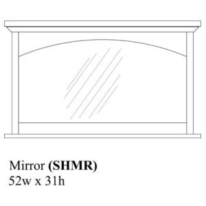 Savannah Mirror by Amish Crafted by Noah Bontrager