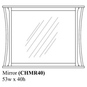 Chandler Mirror by Amish Crafted by Noah Bontrager