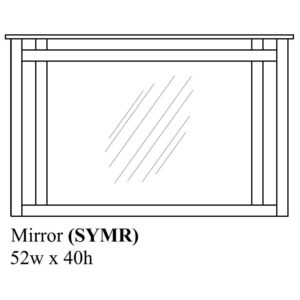 Sydney Mirror by Amish Crafted by Noah Bontrager