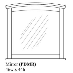 Portland Mirror by Amish Crafted by Noah Bontrager