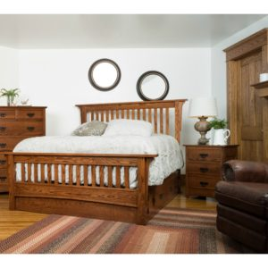 Old Mission Bedroom Collection by Amish Crafted by Noah Bontrager