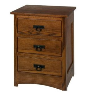 Old Mission Night Stand by Amish Crafted by Noah Bontrager