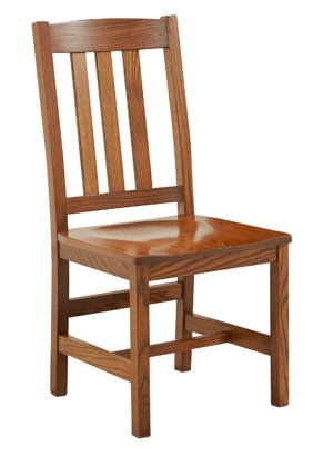 Old Mission Side Chair by Amish Crafted by Noah Bontrager