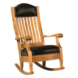 Olde Century Rocker by Amish Crafted by Noah Bontrager