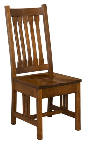 Pasadena Mission Side Chair by Amish Crafted by Noah Bontrager
