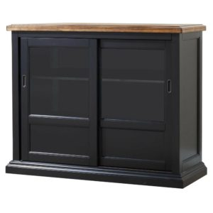 Quails Run 45″ Sideboard (Almond/Ebony) by Winners Only