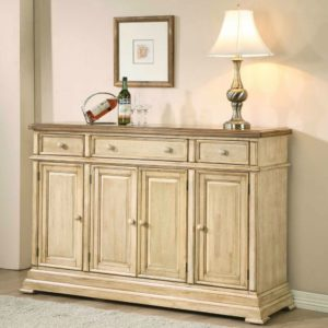 Quails Run 58″ Sideboard (Almond/Wheat) by Winners Only
