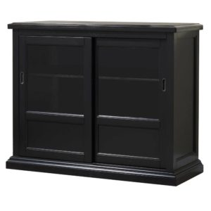 Quails Run 45″ Sideboard (Ebony) by Winners Only