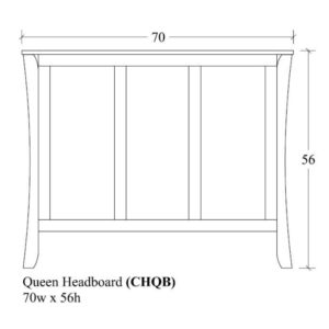 Chandler Queen Headboard by Amish Crafted by Noah Bontrager