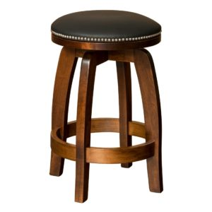 Sagamore Swivel Bar Chair by Amish Crafted by Noah Bontrager
