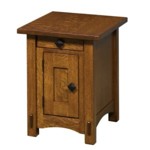 Scottsdale Closed 16″ End Table by Amish Crafted by Noah Bontrager