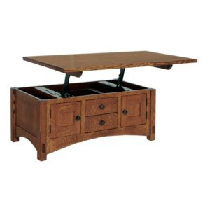 Scottsdale Lift-top Coffee Table by Amish Crafted by Noah Bontrager