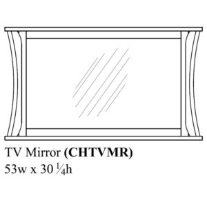 Chandler TV Mirror by Amish Crafted by Noah Bontrager