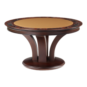 Treviso Round Poker Dining Table by Darafeev
