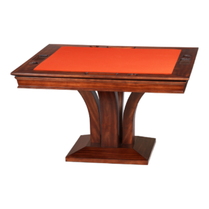 Treviso Square Poker Dining Table w/ Bumper Pool by Darafeev