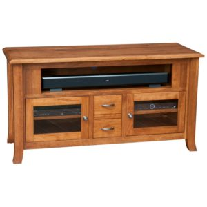 Villa 57″ TV Cabinet by Amish Crafted by Noah Bontrager