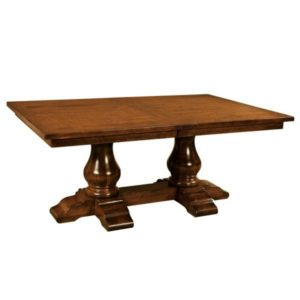 Wellington Trestle Table by Amish Crafted by Noah Bontrager