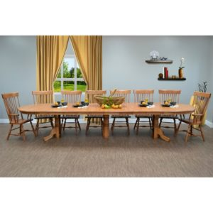Woodbridge Dining Collection by Amish Crafted by Noah Bontrager