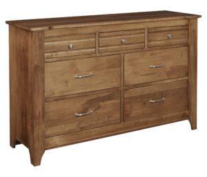 Woodrow 60″ Dresser by Amish Crafted by Noah Bontrager
