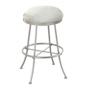 Albany Swivel Barstool (Backless) by Callee
