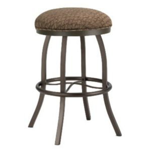 Americana Swivel Barstool (Backless) by Callee