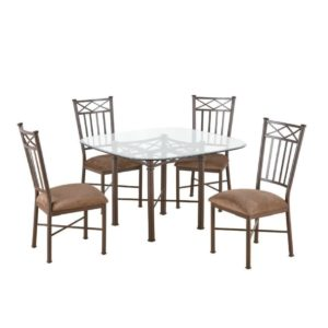 Arcadia 5 Piece Dining Set by Callee