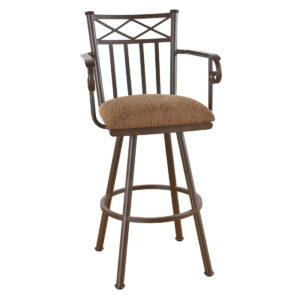 Arcadia Swivel Barstool w/ Arms by Callee
