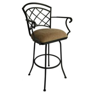 Baldwin Swivel Barstool w/ Arms by Callee