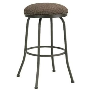 Berkeley Swivel Barstool (Backless) by Callee