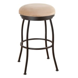 Bristol Swivel Barstool (Backless) by Callee