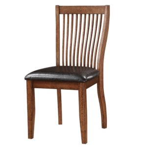 Broadway Slat Back Side Chair (Acacia) by Winners Only