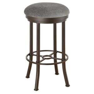 Burnet Swivel Barstool (Backless) by Callee