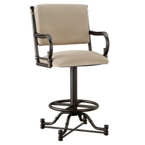 Burnet Swivel Barstool w/ Arms by Callee
