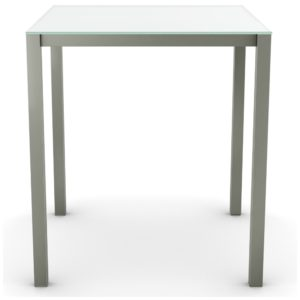 Carbon-Glass Counter Height/Pub Table ~ 50962-36/42 by Amisco