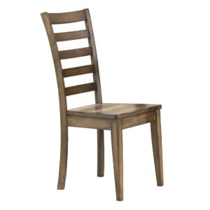 Carmel Ladder Back Side Chair (Rustic Brown) by Winners Only